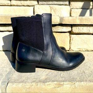 Aetrex Black Kaitlyn Knit Boot Sz 7.5-8